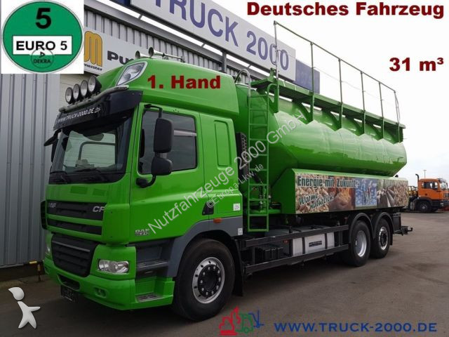 Mezzo di rete stradale DAF CF85.510 31m³ Silo für Staub Riesel inkl. Waage