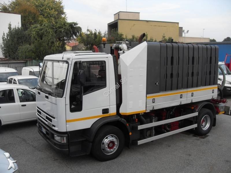 camion hydrocureur occasion iveco eurocargo 150e23 annonce n 2333909. Black Bedroom Furniture Sets. Home Design Ideas