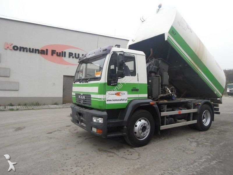 Used MAN road sweeper 15-185 4x2 - n°2349781