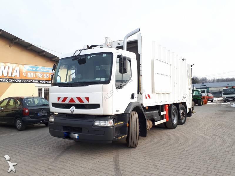 used renault premium waste collection truck 270 6x2 diesel euro 3 n 2503879. Black Bedroom Furniture Sets. Home Design Ideas