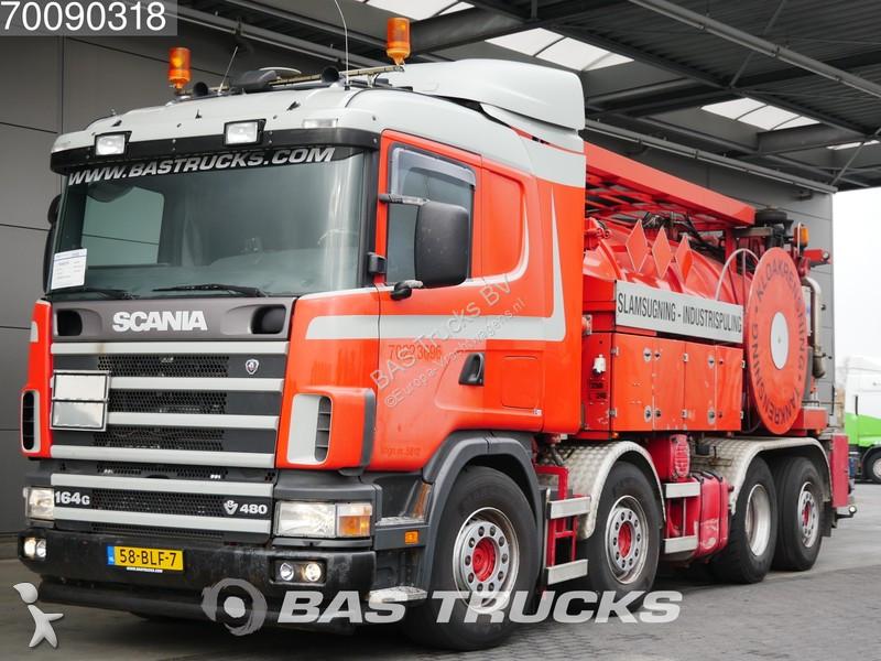 Mezzo di rete stradale Scania
