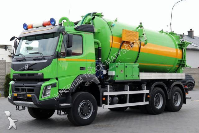 Utilaje pentru drumuri Volvo FMX 420 / 6X6 / WÓZ ASENIZACYJNY 16 M3/MANUAL/E6