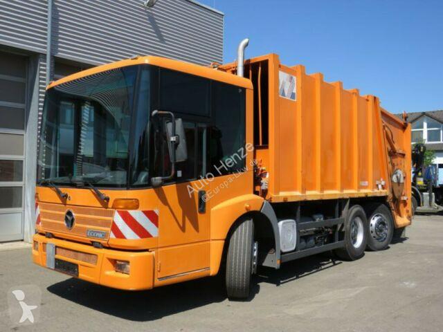 Mercedes Econic 2628 6x2 Müllwagen Zoeller Schüttung Strassenreiniger