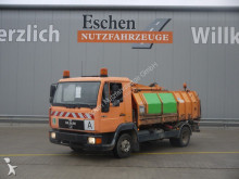 MAN waste collection truck