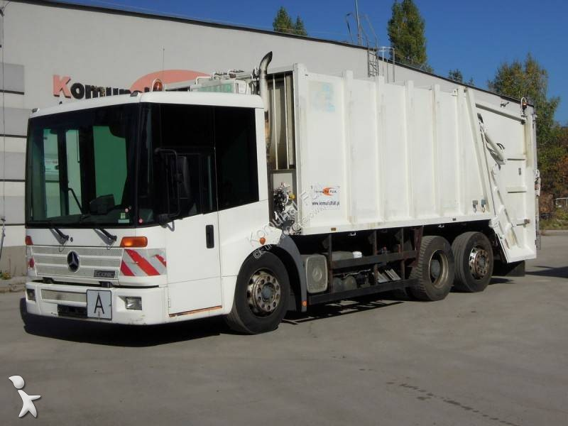 Mercedes road network trucks