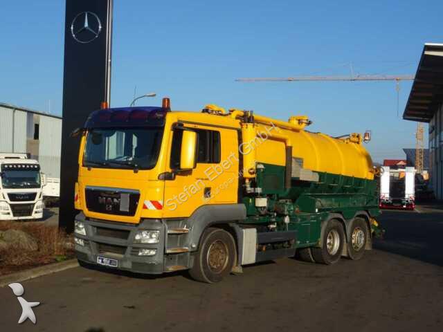 MAN TGS 26.480 6x2 Saug-Druckwagen MüllerVacumaster Strassenreiniger