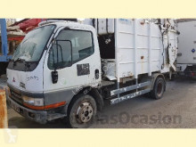 Mitsubishi waste collection truck