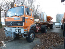 Renault snow plough-salt spreader