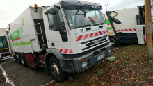 used waste collection truck