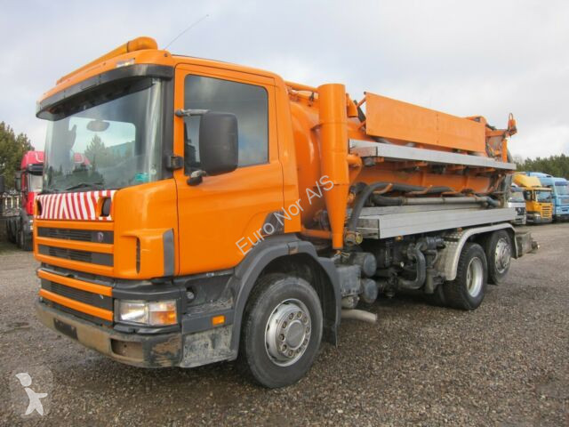 Voir les photos Engin de voirie Scania 94D/220 6x2*4 JHL 8000 L.