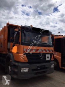 Mercedes waste collection truck