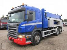 camion hydrocureur Scania