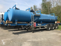 Trailor sewer cleaner semi-trailer