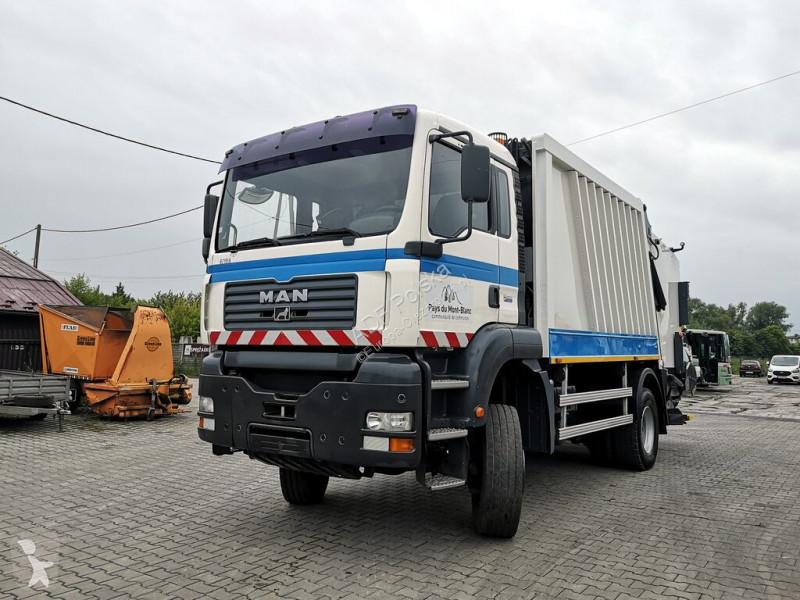 Zobaczyć zdjęcia Komunalne MAN H7OPM2B 4x4 garbage truck mullwagen