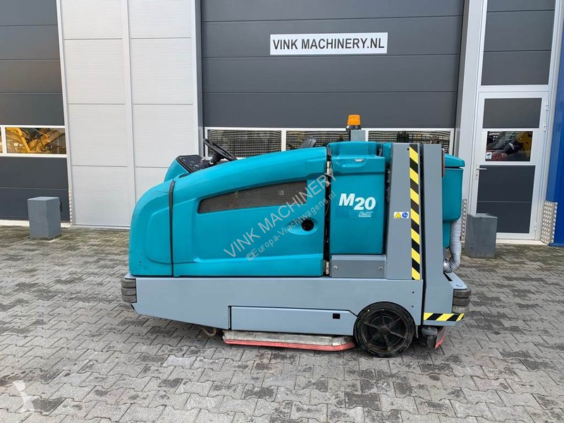 View images Tennant M20 veeg,scrub machine road network trucks