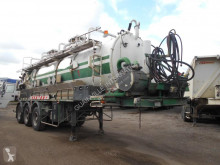 Trax sewer cleaner semi-trailer