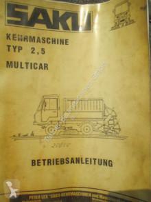 maquinaria vial Multicar