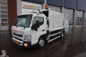 Fuso waste collection truck