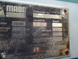 Voir les photos Engin de voirie MAN 19.322 + Mabo Toilet/Vacuum Trailer 25.000L Full Steel Good Working