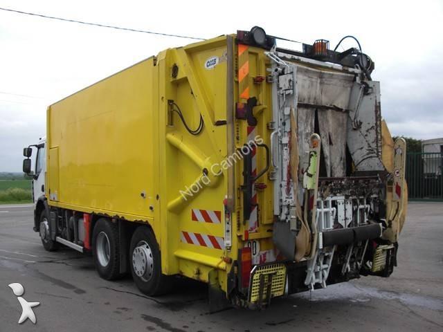 camion benne ordures m nag res renault premium 320 dxi 6x2 gazoil euro 4 occasion n 1665066. Black Bedroom Furniture Sets. Home Design Ideas