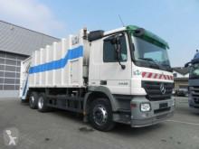 camion raccolta rifiuti Mercedes Actros 2532 L 6x2 Müllwagen Zoeller Schüttung 6x2 Gasolio Euro 4 usato - n°2530859 - Foto 2