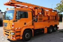 camion hydrocureur MAN 6x2 Gazoil Euro 3 occasion - n°2900659 - Photo 2