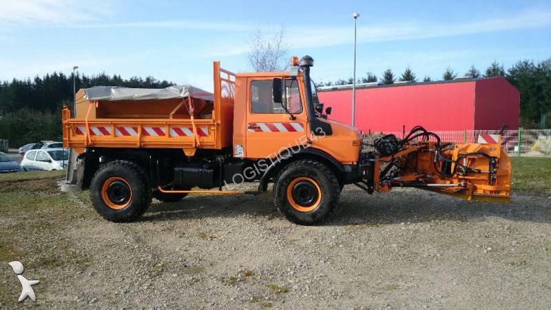 Camion spargisale spazzaneve unimog u1300 4x4 gasolio euro for 4x4 haute loire occasion