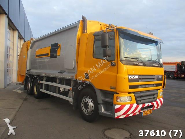 used daf cf waste collection truck 250 6x2 diesel euro 3 n 2335787. Black Bedroom Furniture Sets. Home Design Ideas