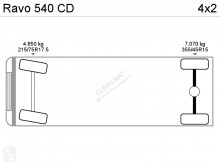 Voir les photos Engin de voirie Ravo 540 CD