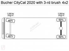 Voir les photos Engin de voirie Bucher Schoerling CityCat 2020 with 3-rd brush