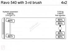 Bekijk foto's Gemeentevoertuig Ravo 540 with 3-rd brush