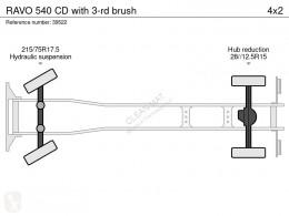 Voir les photos Engin de voirie Ravo 540 CD with 3-rd brush