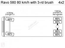 Bekijk foto's Gemeentevoertuig Ravo 580 80 km/h with 3-rd brush