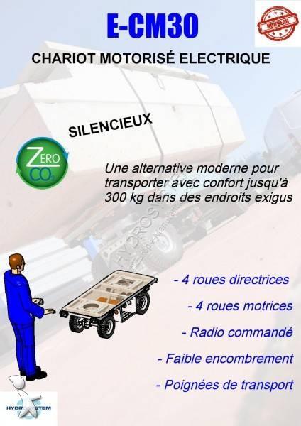 Ver as fotos Empilhador autoguiado Hydrosystem CHARIOT ELECTRIQUE MOTORISE E-CM30