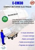 stivuitor cu autoghidare Hydrosystem CHARIOT ELECTRIQUE MOTORISE E-CM30