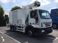 Iveco articulated truck mounted