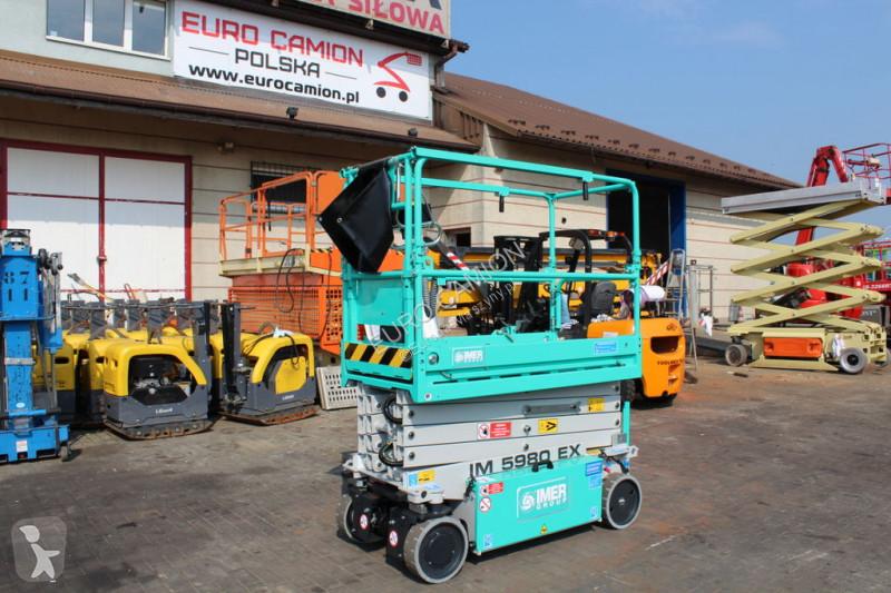 Voir les photos Nacelle Imer 5980 EX - 8 m (mec, jlg, genie, haulotte, upright, iteco, airo,