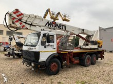 Mercedes articulated truck mounted
