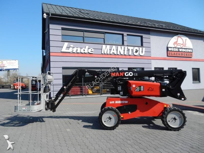 Vedeţi fotografiile Cu nacela Manitou MAN GO12 Side shift integrated 4wd