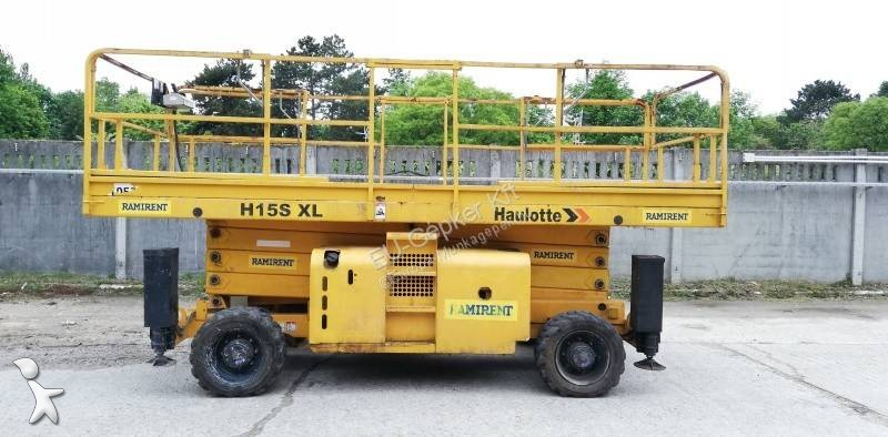Haulotte H15SXL - 15m, 4x4, diesel aerial platform