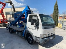 Nissan articulated truck mounted