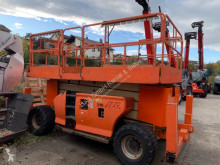 plataforma JLG 4394RT, 15m scissor lift diesel with jacklegs