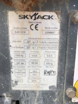 View images Skyjack SJ 3219 aerial platform