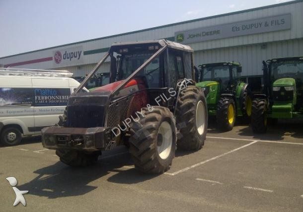 tracteur forestier occasion valtra
