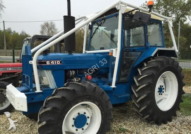 tracteur forestier ford