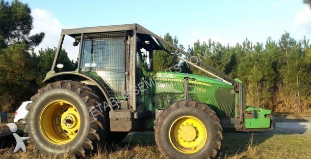 tracteur forestier john deere occasion
