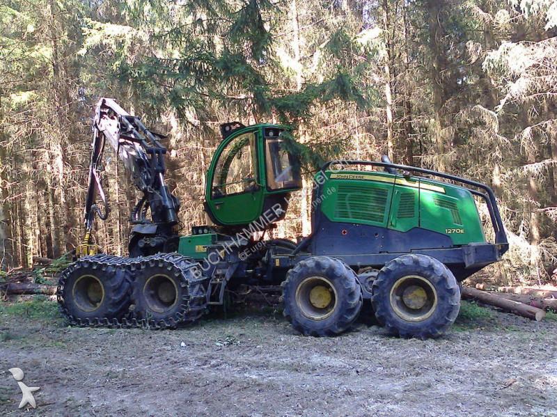 John Deere 1270E IT4 8WD Forstmaschinen