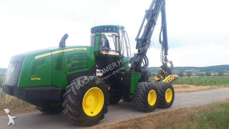 John Deere 1270E IT4 - 6W Forstmaschinen
