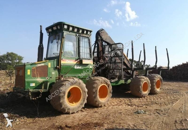 Timberjack 250 8W forestry equipment