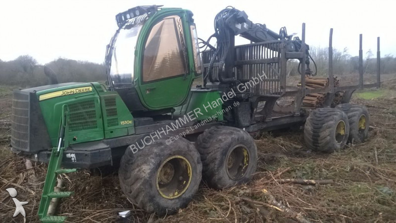 John Deere 1510E forestry equipment